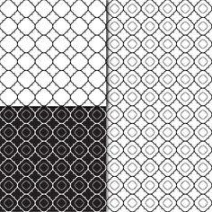 Download Digital Paper Pack Damask & Retro Black White & Grey Online | Gidget Designs