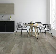 Flint Oak Techtanium Hand Scraped Locking Engineered Hardwood - x 6 - 100502509 Engineered Hardwood Flooring, Hardwood Floors, Contemporary Decor, Modern Decor, Kitchen Colors, Kitchen Ideas, Kitchen Design, Kitchen Gallery, Interior Paint Colors