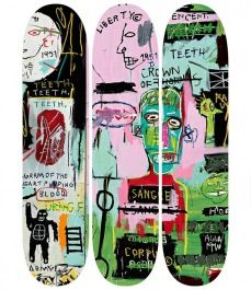 Artist Skateboards in the Tate Shop