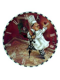 Fat Chef Bistro Clock