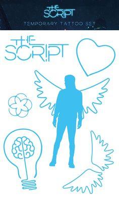 'Freedom Child' Temporary Tattoo Set – The Script