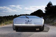 A subasta el Maserati Boomerang, un prototipo único de 1971 - Diariomotor