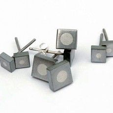 Beccy Gillatt :: Men's Jewellery Collection :: Tie Pin :: Cufflinks :: Makers :: Bluecoat Display Centre