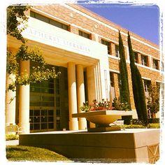 Chapman University's Leatherby Libraries shared by Devon Hillard via Instagram. It's a sunny summer in Orange, CA! #CaptureCU