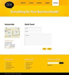 Template 36133 - J M Website Template