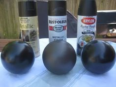 Comparison of Oil-rubbed bronze spray paints
