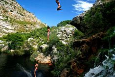 Kloofing in Cape Winelands   Canyoning - Dirty Boots Adventure Activities, Day Tours, Canoe, Mountain Biking, Great Places, Wilderness, South Africa, Cruise