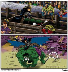 Comic book parody