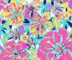 SALE SHOP WIDE  Lilly Pulitzer fabric Besame by fabriclillystyle2