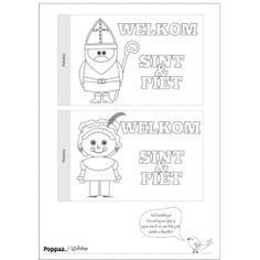 Sint&Piet Vlaggetjes | Poppaa