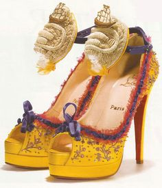 marie antoinette style! from the one and only louboutin