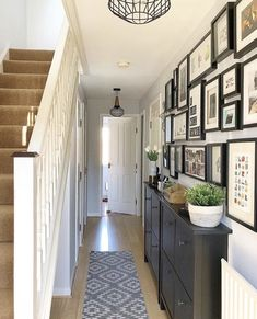 Hallway Decorating 432204895488132357 - Entry Hallway Floor Hallway Tile Ideas Hall With Narrow Hallway Tiled Floor Narrow Hallway Home Entryway Decor Source by Hallway Coat Rack, Hallway Shoe Storage, Ikea Shoe Storage, Wall Storage, Kitchen Storage, Ikea Hallway, Dark Hallway, Hallway Ideas Entrance Narrow, Interior Design Living Room