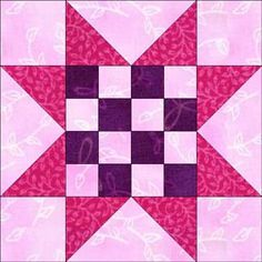 16 Patch Sawtooth Star...12 1/2 inch block