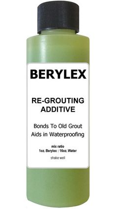 Berylex has been replaced with Grout Bond. More info...