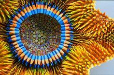 Esculturas feitas de lápis!!! Lindas!