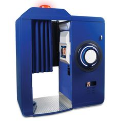 The Instant Post Photo Booth - Hammacher Schlemmer