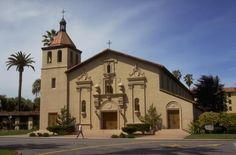 Mission Santa Clara - history, historical and current photographs, resources for Mission Santa Clara