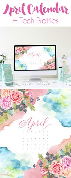 Charm City Ciemny's: Free {April 2016} Printable, Desktop, and Phone Wallpaper