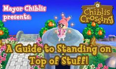 Bidoof Crossing — chibliscrossing: A visual guide to standing on...