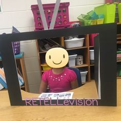 Practicing retelling in kindergarten with our RETELLevision