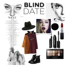 """blind date"" by juliagracekidd ❤ liked on Polyvore featuring Deborah Lippmann, WithChic, Forever 21, Lanvin, MAC Cosmetics, Bobbi Brown Cosmetics, Maybelline, women's clothing, women and female"