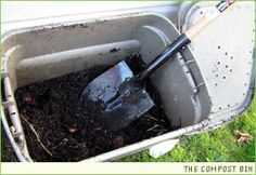 Guest post by Kelly Gilliam Make this budget conscious compost bin for your deck or small outdoor space. One benefit to having your own yard and garden is