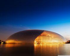 opera house in beijing china [1280x1024] via Classy Bro