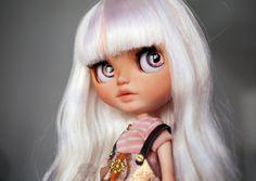 Opal the Elephant Enchantress - ooak Blythe doll custom by Karolin Felix