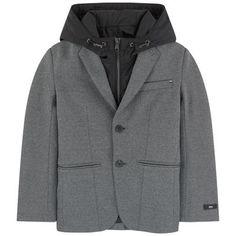 Boss - 2 in 1 jacket - 238377 Boys Fall Fashion, Autumn Fashion, Moncler, Kenzo, Boss Coat, Boss 2, Gucci, Kids Coats, Raincoat