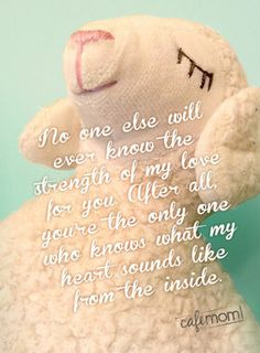 No one else will ... #motherhood #quotes