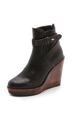 2d4e88820e023 Rag   Bone Emery Wedge Booties Slipper Boots