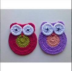 Crochet Owl Coasters Pieces) by RoseliteHome on Etsy Crochet Doilies, Coasters, Crochet Earrings, Baby Shoes, Owl, Trending Outfits, Unique Jewelry, Handmade Gifts, Etsy