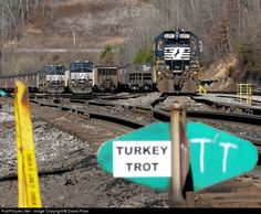 RailPictures.Net Photo: NS 6097 Norfolk Southern EMD SD40-2 at Williamson, West Virginia by David Price
