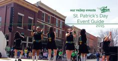List of 2015 St. Patrick's Day events in Huntsville AL including the annual parade.