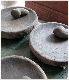 Balinese pestle and mortars