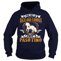 Awesome Tee RICH AND FAMOUS PASO FINO Shirts & Tees