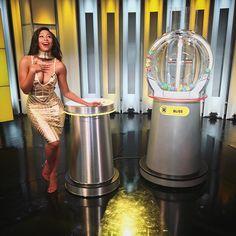 WEBSTA @ minniedlamini - I got to do the live national Lotto draw tonight hope I was good luck #30MillionJackPot @sa_lottery #TheGrindNeverStops ❤️