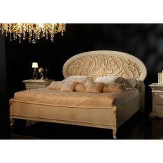 Novita Conformi Oval Headboard Bed in Ivory Pink -