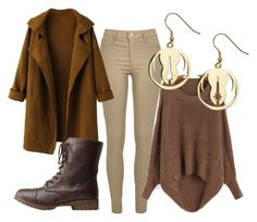 Jedi Outfit #2 by katwhisky on Polyvore featuring WithChic, River Island, Charlotte Russe and starwars