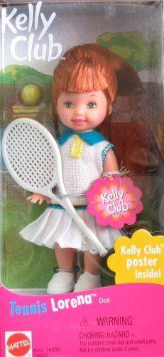 Barbie Kelly TENNIS LORENA Doll (1999) by Mattel, http://www.amazon.com/dp/B001H3LNVO/ref=cm_sw_r_pi_dp_S-fErb1WA2SXK