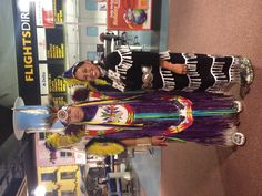 These Native American dancers were in our Barrhead Travel Oswald St Superstore in Glasgow City Centre today. They traveled all the way from Kansas and Oklahoma! They were incredible, they performed a Buffalo Dance, Horse Dance and a Healing Jingle Dress Dance! Thanks Michael & Rebecca, you've both inspired us all to travel to your home states!