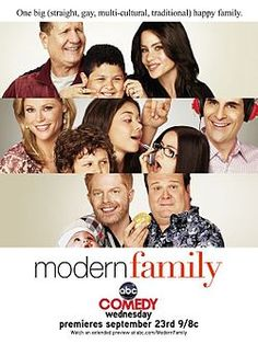 Modern Family is an American comedy series which debuted on ABC on September 23, 2009.