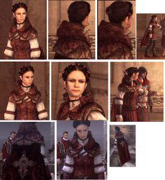 Assassin Creed II: Brotherhood: Claudia Auditore (assassin version)  Saman kuin blogi-kirjoituksen tekijällä: ajattelin ensin Claudian varsinaista pukua ja sitten pääsin tarinassa eteenpäin..