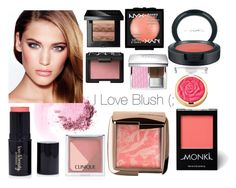 """I Love Blush (;"" by cissou26 ❤ liked on Polyvore featuring beauty, Hourglass Cosmetics, Monki, Christian Dior, MAC Cosmetics, NARS Cosmetics, Forever 21, Clinique, Bobbi Brown Cosmetics and NYX"