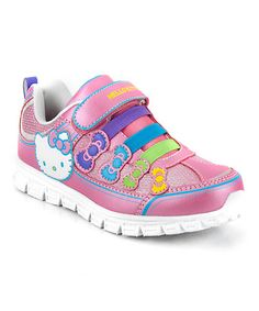 Take a look at this Pink Bonnie Sneaker - Infant & Toddler on zulily today!