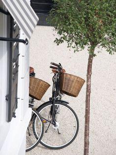 Currents Gifts Cape Cod loves Nantucket Baskets...Nantucket baskets on a bike = bliss