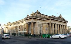 The Royal Scottish Academy has occupied this William Henry Playfair building on the Mound since 1826.