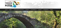 Refonte du site Internet   Vallée du Prunelli