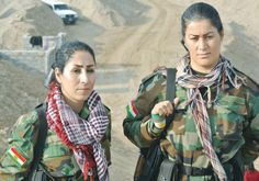 The presence of women fighting ISIS became an exotic and sensational topic in…