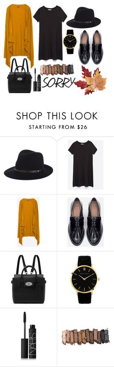 """SORRY"" by miriam-286 ❤ liked on Polyvore featuring rag & bone, Zara, Mulberry, Larsson & Jennings, NARS Cosmetics, Urban Decay and Croft & Barrow"